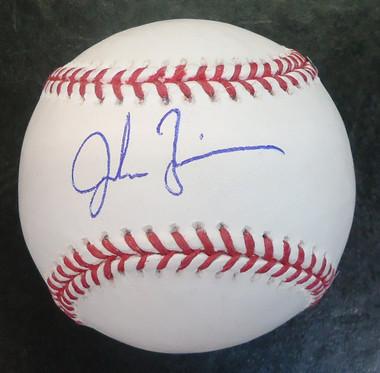 Jordan Zimmermann Autographed Baseball