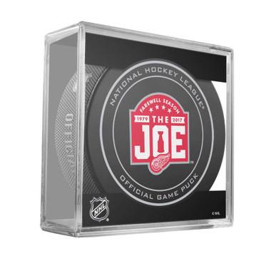 Farewell to the Joe Game Puck