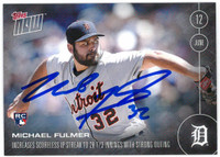 Michael Fulmer Autographed Rookie Card
