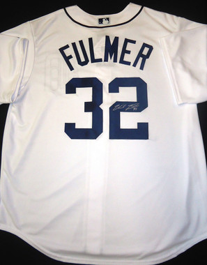 Michael Fulmer Autographed Detroit Tigers Jersey