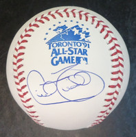 Cecil Fielder Autographed All Star Baseball