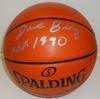 Dave Bing Autographed Basketball