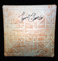Miguel Cabrera Autographed Game Used Base