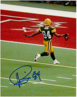 Andre Rison Autographed 8x10 Photo #4 - Packers Super Bowl TD