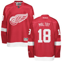 Kirk Maltby Autographed Detroit Red Wings Red Jersey (Pre-Order)