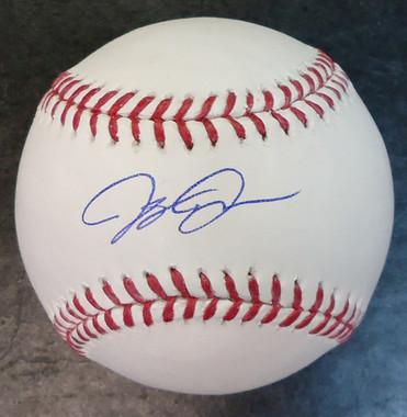 JaCoby Jones Autographed Baseball