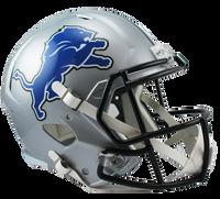 Eric Ebron Autographed Detroit Lions Speed Deluxe Replica Helmet (Pre-Order)