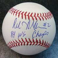 Rod Allen Autographed Baseball
