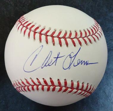 Chet Lemon Autographed Baseball