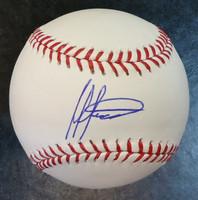 Melvin Mercedes Autographed Baseball