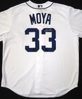 Steven Moya Autographed Detroit Tigers Jersey