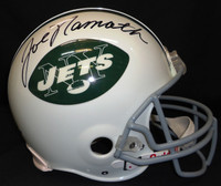 Joe Namath Autographed NY Jets Authentic Helmet