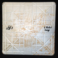 Daniel Norris Autographed Game Used 3rd Base 9/22/2015