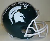 Andre Rison Autographed MSU Spartans Deluxe Replica Helmet