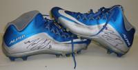 Marvin Jones Autographed Detroit Lions Nike Cleats - Game Worn 9/25/16