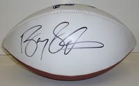 Barry Sanders Autographed Detroit Lions White Panel Football