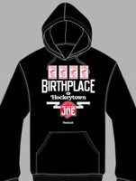 Detroit Red Wings Farewell to the Joe Birthplace Hoodie (Black)