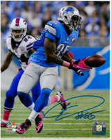 Eric Ebron Autographed Detroit Lions 8x10 #1 - Catch vs Buffalo