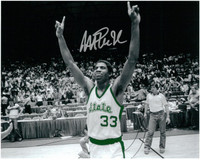 Magic Johnson Autographed MSU Spartans 8x10 Photo #1 - Spotlight