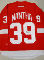 Anthony Mantha Autographed Detroit Red Wings Home Jersey (Pre-Order)