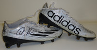 Ameer Abdullah Autographed Detroit Lions Adidas Cleats - Game Worn 2016