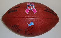 Matt Prater Autographed Detroit Lions Team Issued BCA Authentic Football