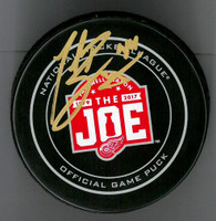 Todd Bertuzzi Autographed Farewell to the Joe Official Game Puck