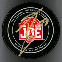 Tyler Bertuzzi Autographed Farewell to the Joe Official Game Puck