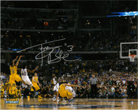 "Trey Burke Autographed Michigan Wolverines 16x20 Photo #2 - ""The Shot"" Wide Angle"