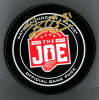 Jared Coreau Autographed Farewell to the Joe Official Game Puck