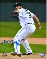 Michael Fulmer Autographed Detroit Tigers 8x10 Photo #2 - Intensity
