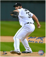 "Michael Fulmer Autographed Detroit Tigers 8x10 Photo #2 - Inscribed ""2016 AL ROY"""
