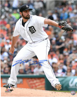 Michael Fulmer Autographed Detroit Tigers 16x20 Photo #3 - The Pitch