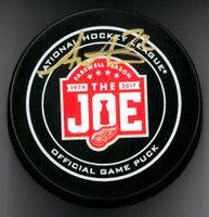 Andreas Athanasiou Autographed Farewell to the Joe Official Game Puck