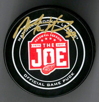 Anthony Mantha Autographed Farewell to the Joe Official Game Puck