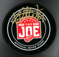 Xavier Ouellet Autographed Farewell to the Joe Official Game Puck