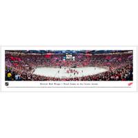 Final Game at Joe Louis Arena Panoramic Print