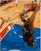 Andre Drummond Autographed Detroit Pistons 8x10 Photo #1 - Motor City Slam Dunk