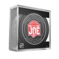 Joe Kocur Autographed Final Game at Joe Louis Game Puck (Pre-Order)