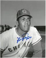 Fergie Jenkins Autographed Chicago Cubs 8x10 Photo #2 - Black & White