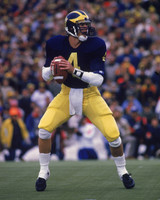 Jim Harbaugh Autographed 8x10 Photo #3 - Back to Pass (Pre-Order)