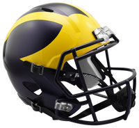 Jim Harbaugh Autographed Michigan Wolverines Speed Matte Helmet (Pre-Order)