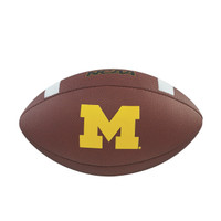 Jim Harbaugh Autographed Michigan Wolverines Football (Pre-Order)