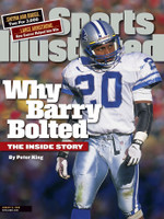Barry Sanders Autographed Sports Illustrated (Pre-Order)