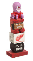 Detroit Red Wings Tiki Totem