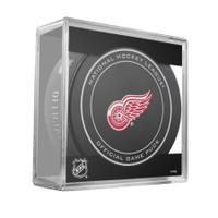 Brendan Shanahan Autographed Detroit Red Wings Official Game Puck w/ HOF 13 (Pre-Order)