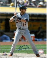 Andrew Romine Autographed Detroit Tigers 8x10 Photo #2 - Waiting For The Pitch