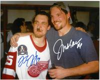 Darren McCarty & Joe Kocur Autographed Detroit Red Wings 8x10 Photo