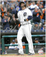 J.D. Martinez Autographed 8x10 Photo #3 - Thanking God