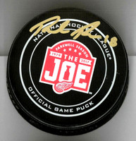 Robbie Russo Autographed Farewell to the Joe Official Game Puck